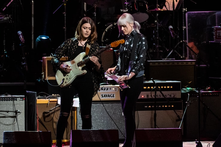 Larkin Poe at Love Rocks (March 7, 2019) (photo credit Maria Ives)