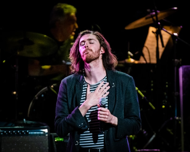Hozier  at Love Rocks (March 7, 2019) (photo credit Maria Ives)