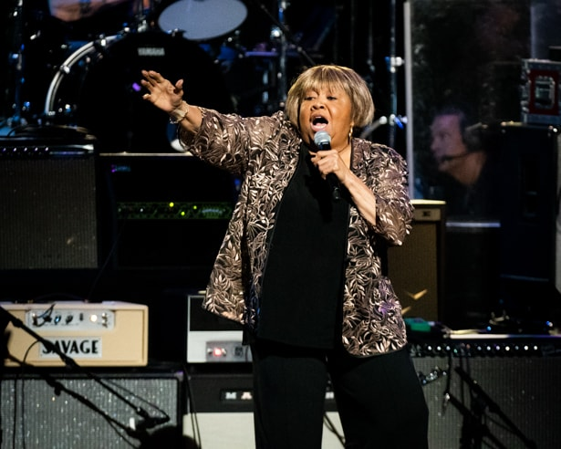 Mavis Staples at Love Rocks (March 7, 2019) (photo credit Maria Ives)