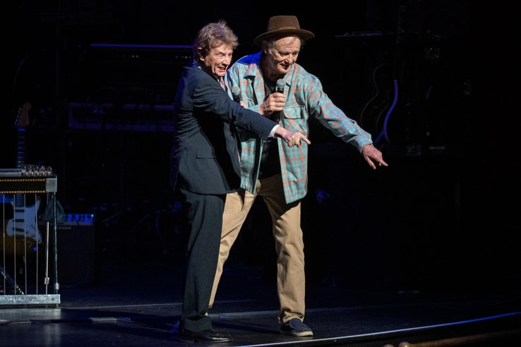 Martin Short and Bill Murray at Love Rocks (March 7, 2019) (photo credit Maria Ives)