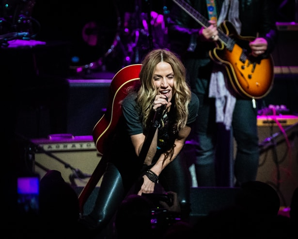 Sheryl Crow at Love Rocks (March 7, 2019) (photo credit Maria Ives)