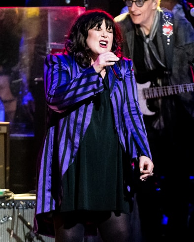 Ann Wilson of Heart at Love Rocks (March 7, 2019) (photo credit Maria Ives)