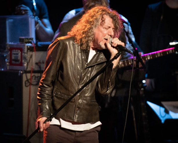Robert Plant at Love Rocks (March 7, 2019) (photo credit Maria Ives)