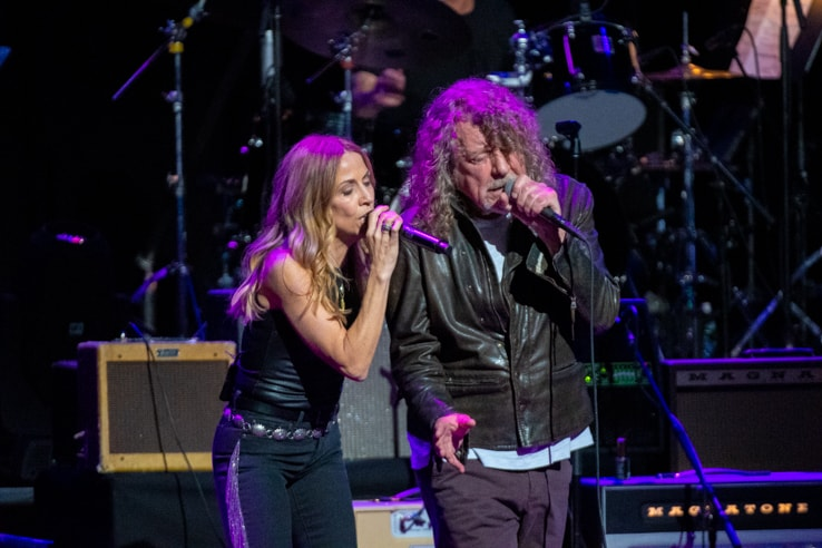 Sheryl Crow and Robert Plant at Love Rocks (March 7, 2019) (photo credit: Maria Ives)