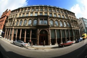 LIVERPOOL, UNITED KINGDOM - FEBRUARY 01: The exterior of the newly opened Hard Days Night Hotel on February 1, 2008, Liverpool, England. The new Hard Days Night Hotel is a four star boutique hotel set in the heart of Liverpool's 'Beatles Quarter' near the world famous Cavern Club where the Beatles first rose to fame. The hotel features 110 rooms, including luxury and deluxe rooms and has two stunning penthouses - the specially designed Lennon & McCartney suites - the Lennon featuring a white grand piano. Specially commissioned artwork, created by acclaimed Beatles artist Shannon, adorns the 110 guest bedrooms and public rooms. (Photo by Christopher Furlong/Getty Images)